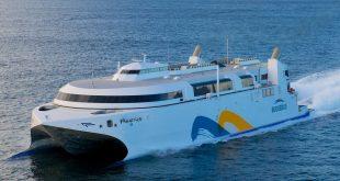 Bautismo del catamarán Francisco de Buquebus