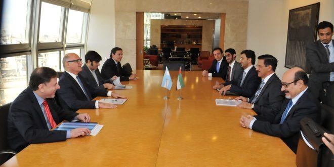 Timerman recibió al ministro de Economía de Emiratos Árabes