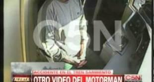 Nuevo video complica más al motorman del accidente de Once