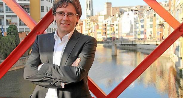 Carles Puigdemont presidente de Cataluña