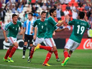 Argentina cayó ante México y jugará por el tercer puesto