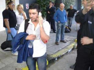 Los guardaespaldas de Justin Bieber golpearon a camarógrafo y fotógrafo en la disco Ink.