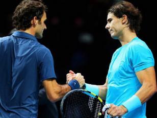 Nadal venció a Federer en semifinales del Masters de Londres por 7-5 y 6-3.