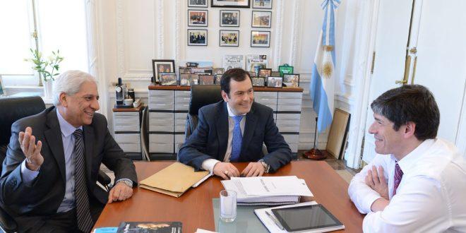 Abal Medina se reunió con el gobernador de Santiago del Estero