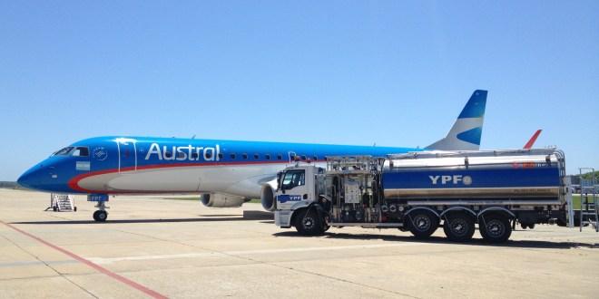YPF: Nueva unidad de abastecimiento de aviones en Aeroparque