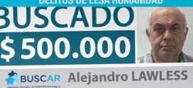 Ofrecen $500 mil pesos para ubicar a Alejandro Lawless