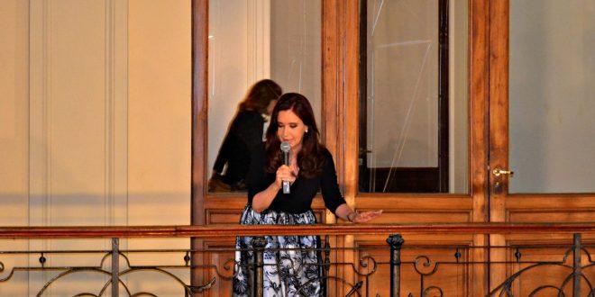 """""""Necesitamos que toda la dirigencia argentina se comprometa a sostener el trabajo, la industria y la educación"""" , afirmó Cristina"""