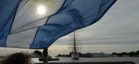 Acto por la Fragata Libertad