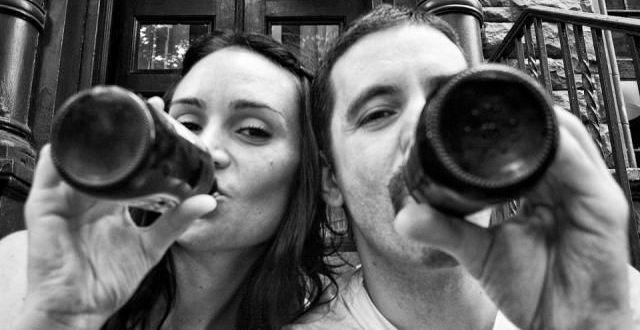 Un fotografo decidió capturar el avance del cáncer en su propia novia. Desde el primer día, al último en fotos 1