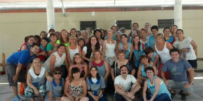 Docentes de los Centros de Desarrollo Infantil cerraron el año con una jornada en José León Suárez