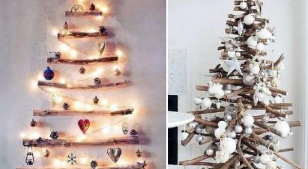 Nuevo árbol de Navidad: natural, artesanal, reciclado