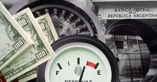 En sólo 3 días las reservas del BCRA bajaron u$s450 millones