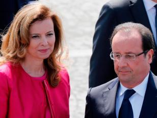 La mujer de Hollande hospitalizada tras los rumores de infidelidad