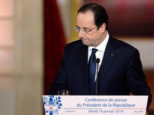 Hollande reconoce crisis en su pareja