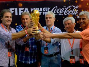 La Copa del Mundo se exhibe en Córdoba hasta este juieves