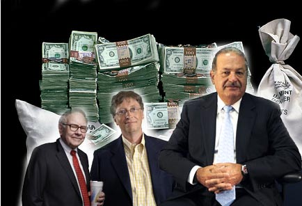 Las 85 personas más ricas del mundo acumulan la misma riqueza que la otra mitad de la humanidad