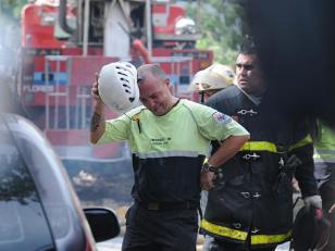 Los empleados de Iron Mountain sobrevivieron al incendio