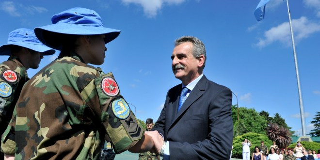 contingente de cascos azules que partirá hacia Chipre