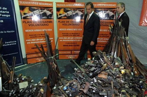 Programa de Desarme Voluntario en San Bernardo