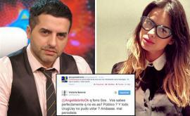 Angel de Brito y Vitto Saravia se dijeron de todo en Twitter