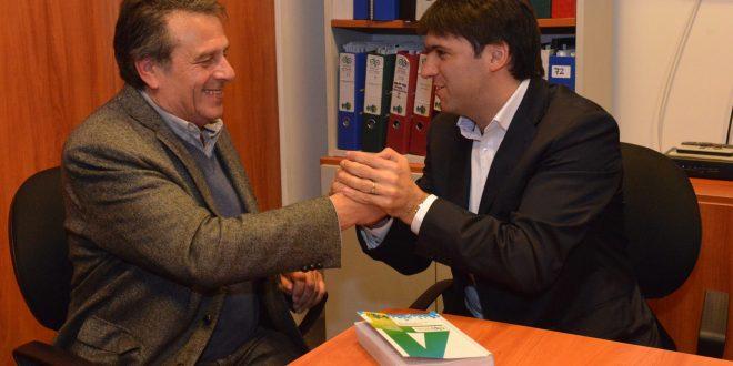 Diego Bossio firmó acuerdos con trabajadores de la Universidad en la ciudad de La Plata