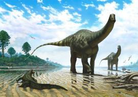 Hallan un dinosaurio famoso de Jurasic Park en la Patagonia