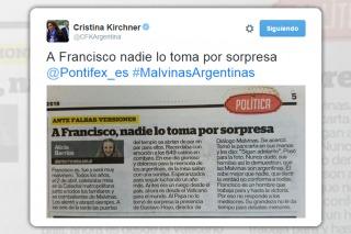 Guiño de Cristina a Francisco tras los cuestionamientos del PRO