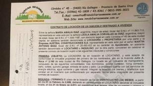 Contrato revela vínculos entre López y Lázaro Báez