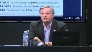 Aranguren, sobre gas: Vamos a subsidiar a quienes lo necesitan