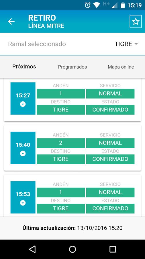 Una app para saber el estado de los trenes en Argentina