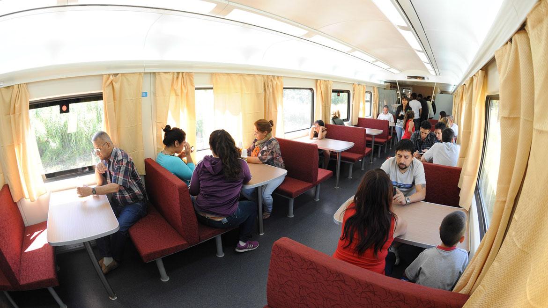 Cunto cuesta comer en el tren a Mar del Plata