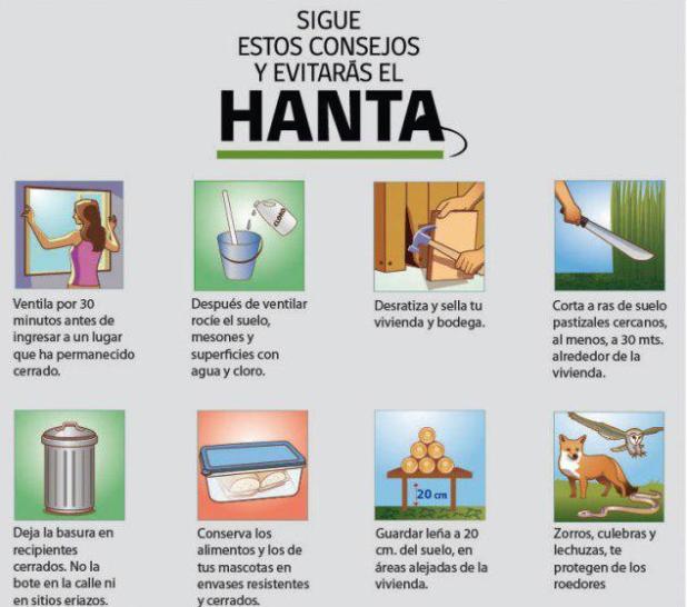 Consejos para prevenir el hantavirus