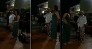 Video: Armó fiesta familiar y anunció que su mujer le era infiel con su mejor amigo