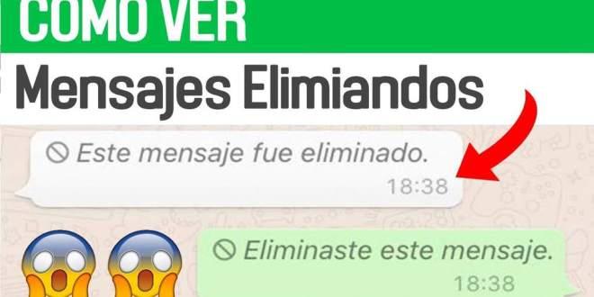 Como leer los mensajes de WhatsApp eliminados