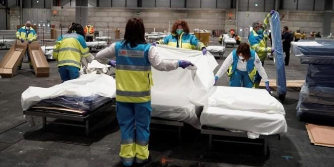Coronavirus España : 514 muertos en las últimas 24hs