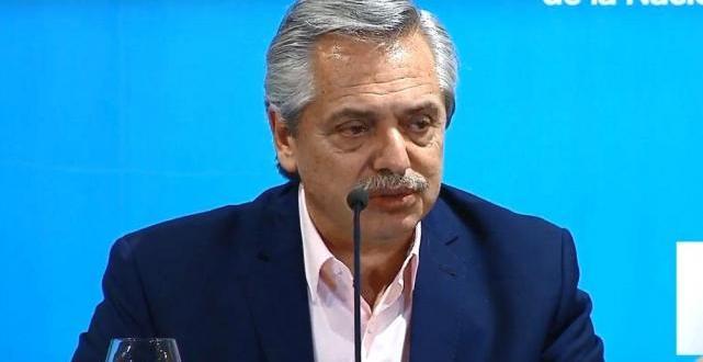 """Alberto Fernández : """"Gracias por haber comprendido"""""""