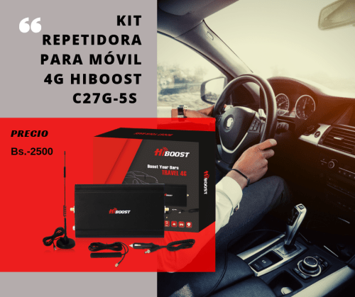 kIT REPETIDORA para movil hiboost C27G-5S