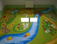 piso para niños