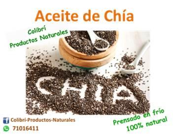 Aceite de Chía