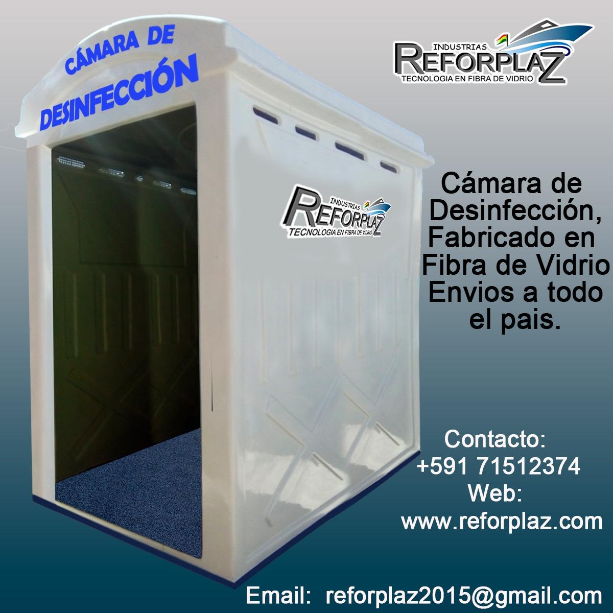 BANNERS  CAMARA DE  DESINFECCION  REFORPLAZ 2