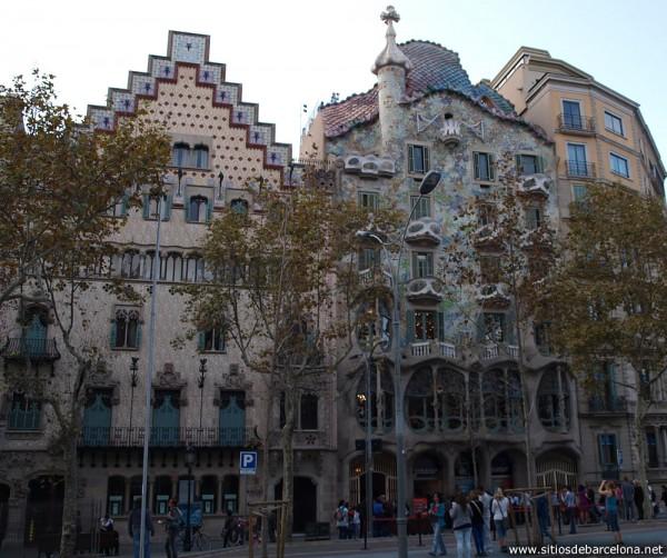 Josep Canaleta  Sitios de Barcelona