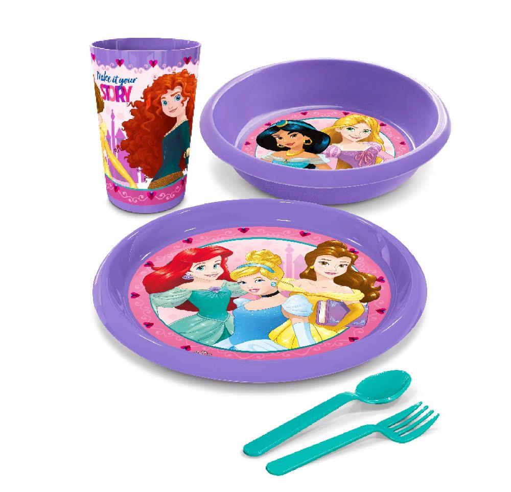 vajilla baby lunch princesas