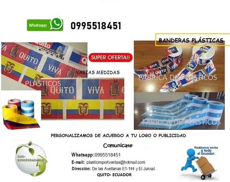 Banderas Plásticas