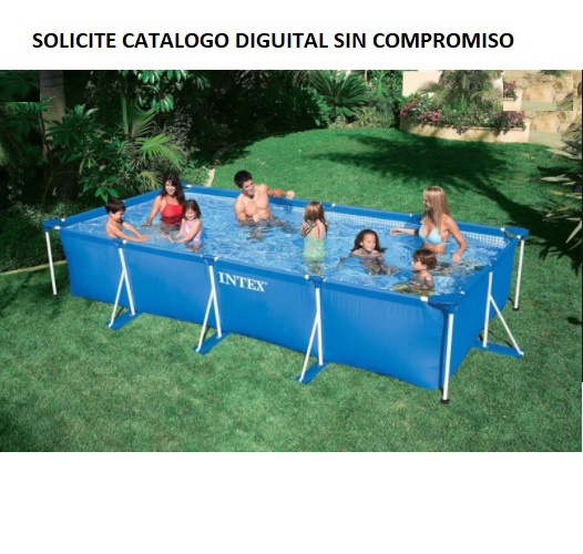 450 RECTANGULAR INTEX SOLICITE CATALOGO