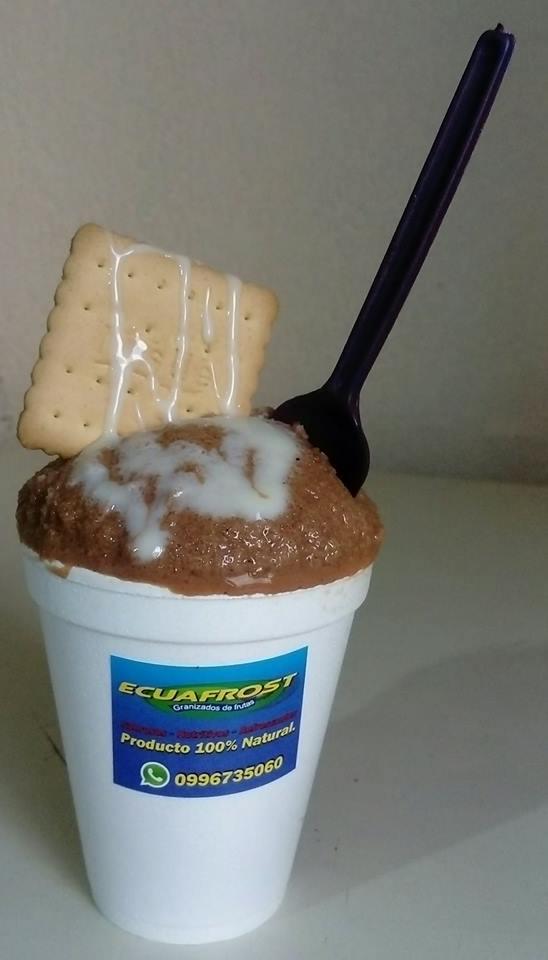 GRANIZADO DE CHOCOLATE