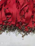 cinta cosido rojo