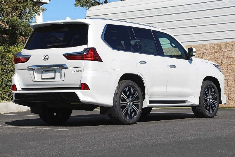 2020 Lexus Lx 570 Super Sport Gcc import Suv a