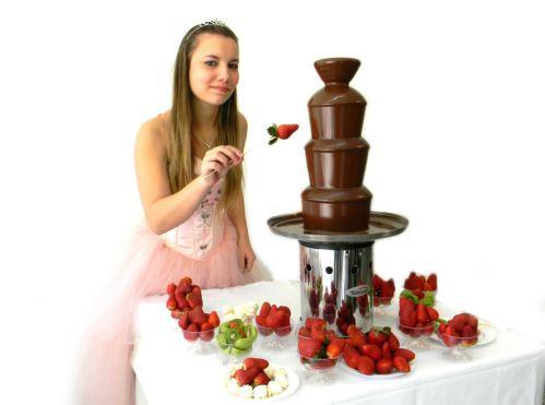 cascada de chocolate familar casera F venta 286