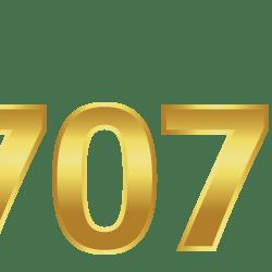 707WIN logo