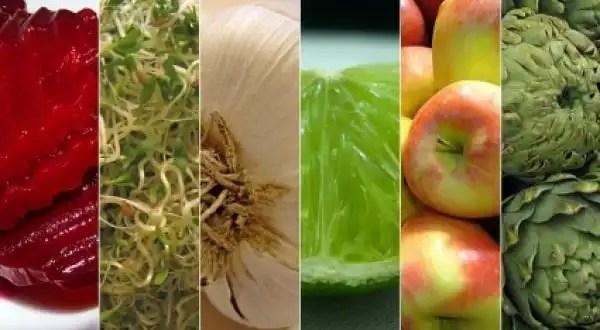 Conoce cuáles son los alimentos que 'nos limpian'